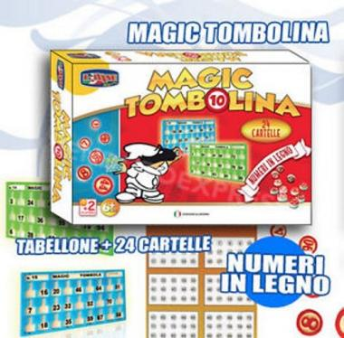 Magic Tombolina 24cart. art.414002