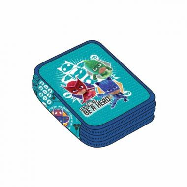 Astuccio Triplo Pj Masks hero time 1/24
