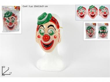 Maschera Clown set 3 pz