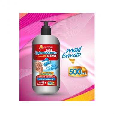 Gel Igienizzante Mani Dispenser 500 ml