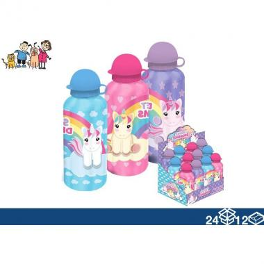 Borraccia in alluminio da 500 Ml Unicorn Sweet