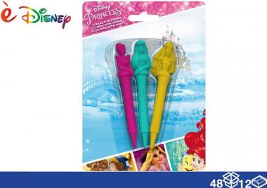 E' disney colori a cera sag 3 pz princess 48/12