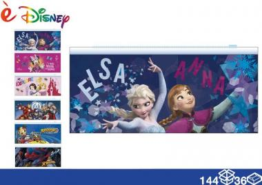 Disney Astuccio piat. pvc 23*10 144/36 assortito