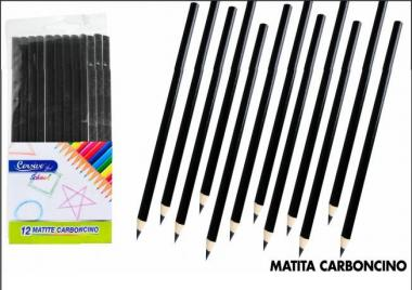 Set 12 Matite Carboncino